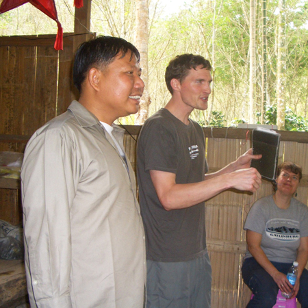 Teaching in South Camp