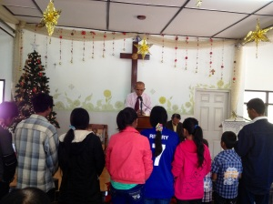 PaO & Shan 9ppl received Christ