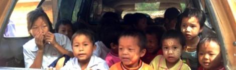 Kids from Burma